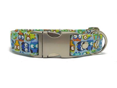 Whoo Whoo does the Owl dogcollar